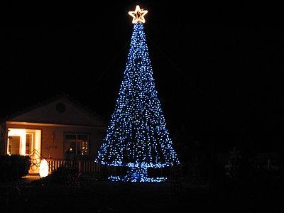 Nevada christmas megatree megatree all blue solutioingenieria Image collections